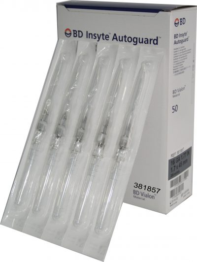 Catéter BD Insyte Autoguard 16G