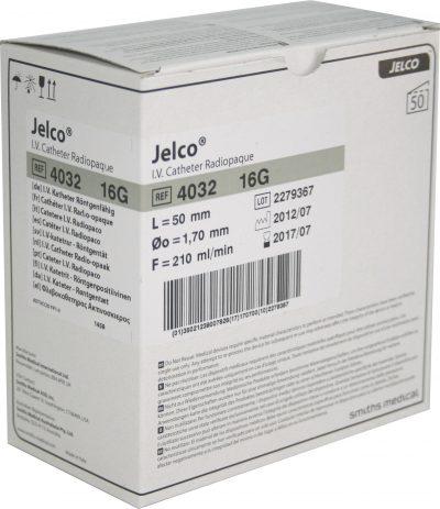 Catéter periférico Jelco de Smiths Medical 16G