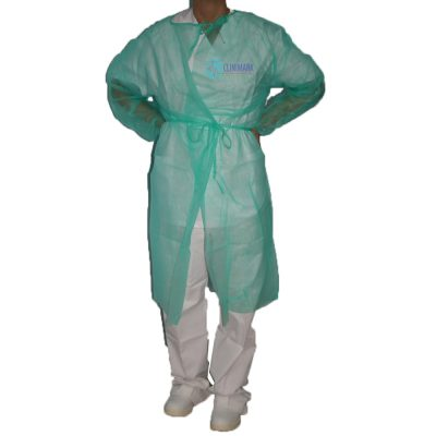 6c4f6e6c00398 Bata verde de protección Unidix de 25 gramos