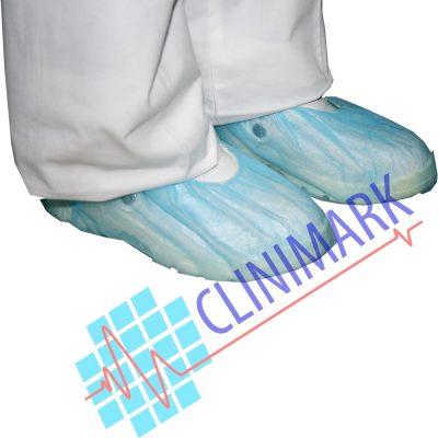 6378a41498f03 calza tejido sin tejer desechable color azul