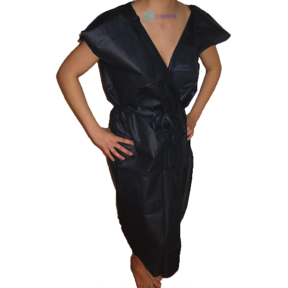 casaca bata azul de 50 gramos desechable Unidix