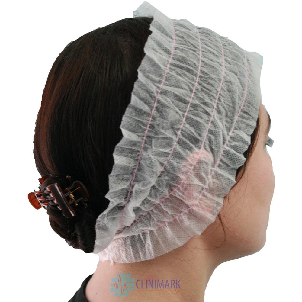 Cinta para el pelo con elásticos para sector industrial y médico