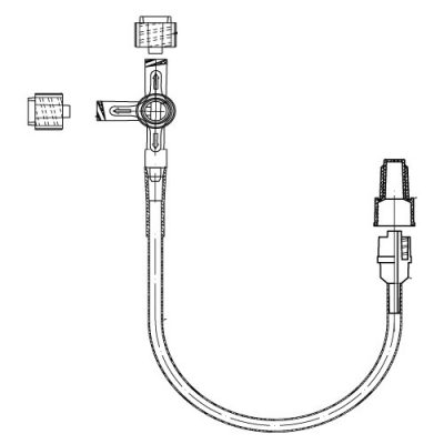 Llave de 3 vías con alargadera Unidix ® 203c51b8305b
