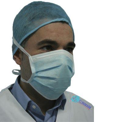 cfa6c799f8e9b Mascarilla de cirujano de 3 capas con cintas Unidix ®
