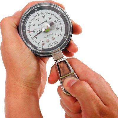 Dinamómetro para ejercicio pinza pulgar