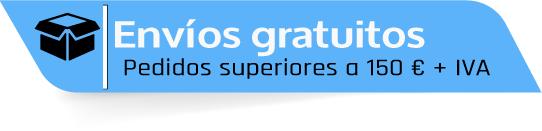 Envíos gratuitos en pedidos superiores a 150 €